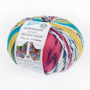 ONline Supersocke 150 Merino color # 2561 *6ply