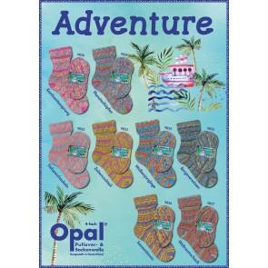 Opal Adventure  # 9822 4ply 100gr