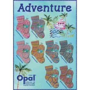 Opal Adventure  # 9827 4ply 100gr