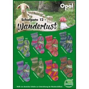 Opal Schafpate 12 Winterwanderweg # 9857 4ply 100gr