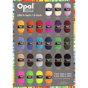 Opal Classic uni # 5186 4ply 100gr.